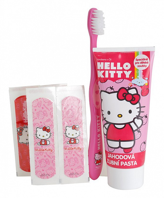 VitalCare Hello Kitty dentální sada
